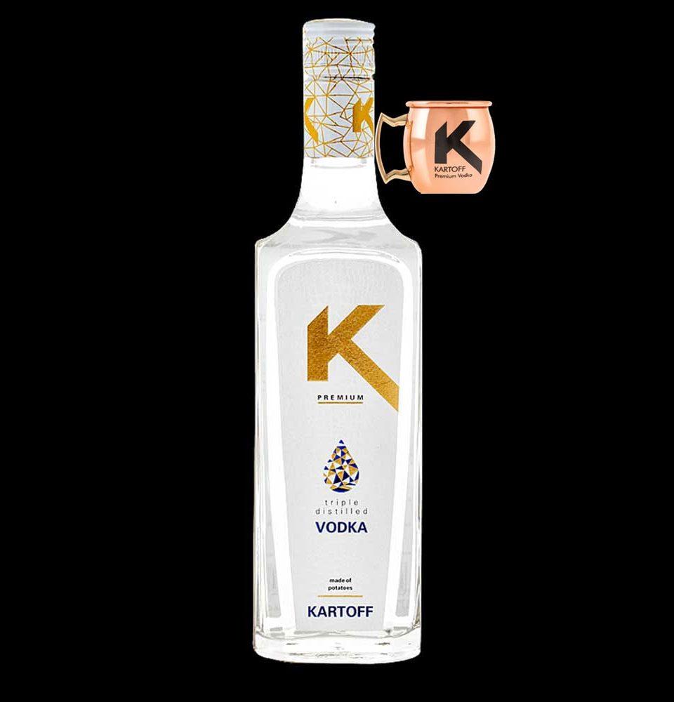 Kartoff Vodka mit Cup